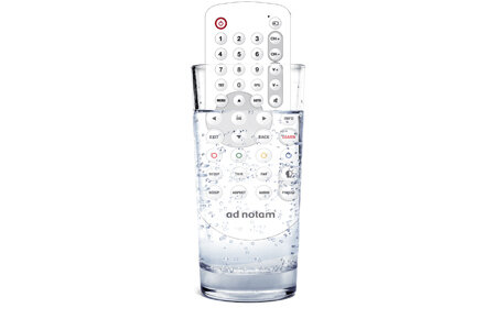 Waterproof remote control. Designed to last longer.